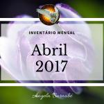 Obrigado Abril – Inventário Mensal