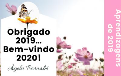 Obrigado 2019… Bem-vindo 2020!