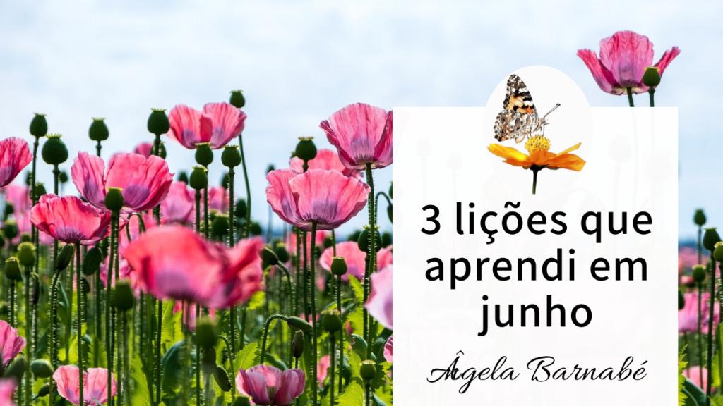 3 lições de junho